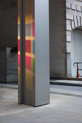 Colour shadows (Spannarama) Tags: uk light london colours shadows pillar column woodstreet