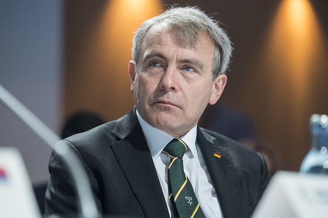 Robert Goodwill at the Closed Ministerial Session