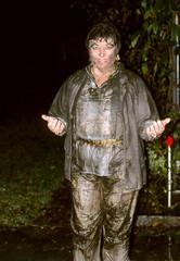 Adamant change (clarkfred33) Tags: wild fun mud anniversary adventure nighttime 1992 celebrate suede wam ttd wetfun flashphoto suedejacket wetandmessy mudfun wetwoman funlady classyclothes wetadventure