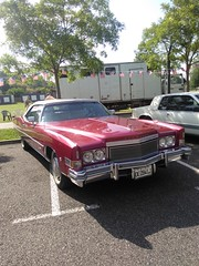 Eldorado (xwattez) Tags: old france car automobile expo country voiture cadillac eldorado exposition american transports ancienne 2016 vhicule amricaine castelnaudestretefonds