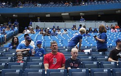 Toronto (Jason Lapeyre) Tags: street toronto colour baseball redsox streetphotography streetportrait bluejays
