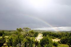 _DSC0002e ~ Rainbow (BDC Photography) Tags: usa clouds rainbow nikon texas texashillcountry nikond200 pipecreek banderacounty nikondslrcamera latigoranch cloudsstormssunsetssunrises tamronaf1750mmf28xrdiiildasphericaliflens tamronda09bayonetlenshood nikon67mmcircularpolarizeriifilter