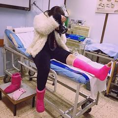 rasha_12816493522_ (cb_777a) Tags: broken foot israel toes palestine leg cast ankle