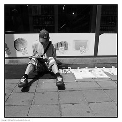 Illustrator (Look_More) Tags: street brussels monochrome effects belgium streetphotography places