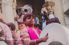 Barsana Nandgaon Lathmar Holi Low res (25 of 136) (Sanjukta Basu) Tags: holi festivalofcolour india lathmarholi barsana nandgaon radhakrishna colours