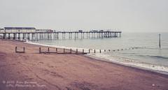 Teignmouth Beach & Grand Pier (Peter Greenway) Tags: holiday beach coast devon thesea deserted grandpier groins teignmouth shaldon emptybeach thegrandpier