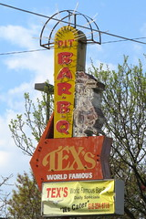 Tex's Bar-B-Q neon sign - Nashville, TN (SeeMidTN.com (aka Brent)) Tags: sign restaurant pig neon tn nashville tennessee barbecue texs barbq worldfamous bmok bmok2