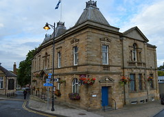 Jedburgh Town Hall (Tony Worrall Foto) Tags: old uk building architecture scotland town tour place north scottish visit tourist historic visitors past built scots ruined pastime olden founded 12thcentury jedburgh scottishborders jedburghtownhall