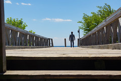 Man on a Bridge. (JL1967) Tags: 2016 cne canada ontario sigma1770 sonya77 toronto ca