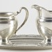 "1018. International ""Old Rose"" Sterling Sugar & Creamer Set"