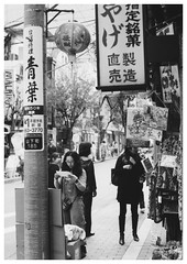 Chinatown street (Delytayan Third) Tags: bw japan chinatown  yokohama kanagawa