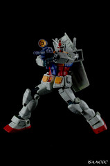 MG RX-78-2 One Year War Ver. (Polycaps) Tags: white one war ray year amuro grade mg master gundam base ver 1100 rx782