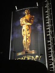 Preparing for the 84th Annual Academy Awards - sign at Hollywood & Highland (Doug Kline) Tags: sign statue oscar theater kodak hollywood setup annual awards academy preparation redcarpet 84th 2011