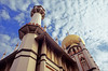 masjid sultan (Ron Layters) Tags: leica building clouds geotagged golden singapore asia minaret muslim slide bluesky mosque velvia dome transparency fujichrome singapura r6 placeofworship kampongglam masjidsultan singaporecity utatafeature leicar6 ronlayters muscatstreet slidefilmthenscanned sultammosque geo:lat=1302021767939195 geo:lon=1038592406300782