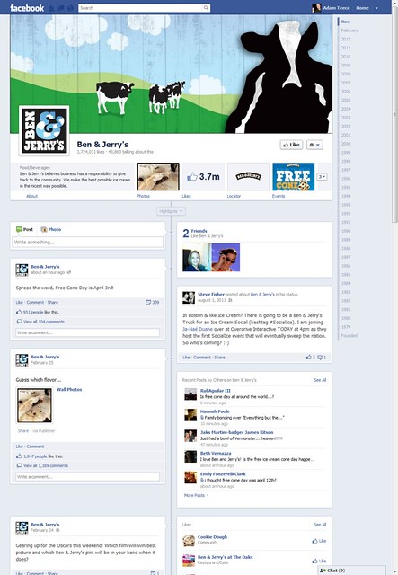 Facebook Pages Timeline