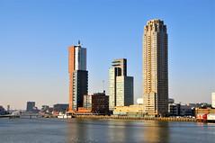 'Kop van Zuid' Rotterdam (FaceMePLS) Tags: haven skyline port rotterdam harbour nederland thenetherlands streetphotography seaport skyscaper wolkenkrabber straatfotografie manhattanaandemaas facemepls wereldhaven havenstad nikond300