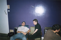 Noise room after party (Gary Kinsman) Tags: 2002 london film students youth fun university young hampstead hallsofresidence nw3 kingscollegelondon kcl childshill studentcampus kidderporeavenue hampsteadstudentcampus