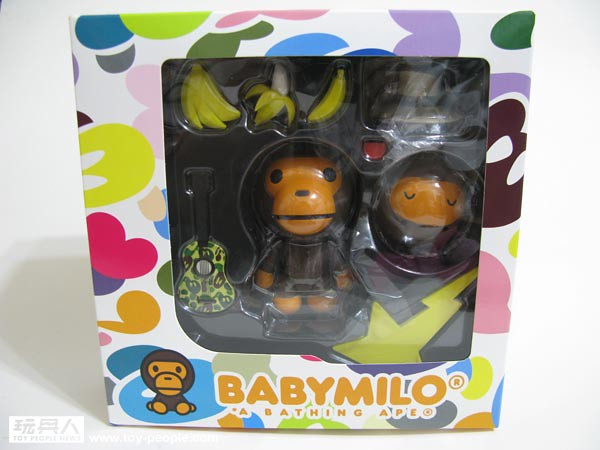 海洋堂山口式可動BABY MILO(R) A BATHING APE店限定開箱報告