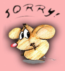 Sorry Mouse - image