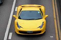 Ferrari 458 Italia  , Hong Kong (Tung1209) Tags: car canon italia ferrari autos supercars 500d 458 55250 worldcars
