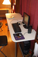 DIY Homeschool Double Desk