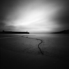 Zero 2000 4 R2 F3 - St Ives Harbour I (Adam Clutterbuck) Tags: blackandwhite bw 6x6 film beach st square mono pier cornwall 2000 harbour rope pinhole mooring medium format bandw sq zero zero2000 oe ives buoy zeroimage moorings sixbysix panf smeatons 500x500 greengage ilfordpanfplus50 adamclutterbuck artlibre artlibres showinrecentset openedition winner500