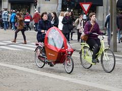 Amsterdam de Dam Mamafiets (Nik Morris (van Leiden)) Tags: netherlands amsterdam de dam nederland mamafiets