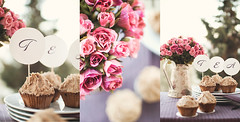 tea time (Sofiamee) Tags: pink light roses summer cupcakes spring day time tea sweet chocolate lovely