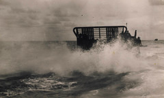 Australian troop carrier in rough seas off New Guinea during World War 2 (Aussie~mobs) Tags: vintage army ww2 australianarmy aif troopcarrier