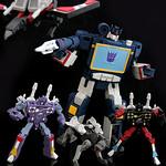 G1 Cartoon Style Soundwave w/ Frenzy, Rumble, Laserbeak & Ravage thumbnail