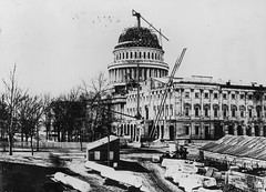 Construction of the U.S. Capitol Dome (USCapitol) Tags: construction historic uscapitol dome capitolbuilding unitedstatescapitol
