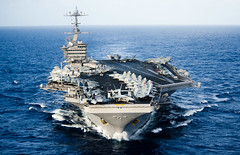 USS John C. Stennis transits the Pacific Ocean. (Official U.S. Navy Imagery) Tags: unitedstates military navy pacificocean usnavy ussjohncstenniscvn74 wwwfacebookcomusnavy