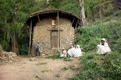 church yemrehanna krestos.Ethiopia (courregesg) Tags: africa people church traditional religion priest ethiopia eglise gens monastry afrique priere ethiopie amhara