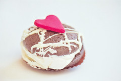 I Heart Whoopie Pies (JoyHey) Tags: copyright cute art love vintage pie dessert happy photography soft day heart sweet pastel joy dream valentine romance retro delicious joyful allrightsreserved whoopie joyhey wwwjoyheycom