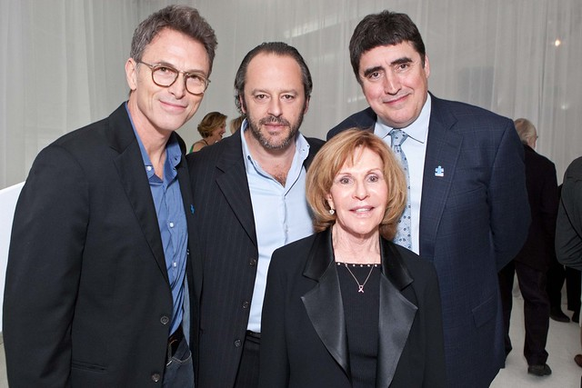 Tim Daly, Gil Bellows, Alfred Molina and committee member Susie Somers
