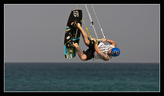 Kite Boarding 1 (GT Photo) Tags: sea sports surf action kiteboarding santamaria sportsaction stunts capeverde seasport nikond90