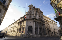 """San Carlo alle Quattro Fontane • <a style=""""font-size:0.8em;"""" href=""""http://www.flickr.com/photos/89679026@N00/6902008099/"""" target=""""_blank"""">View on Flickr</a>"""