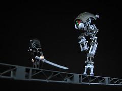 A bridge too far... (mondayn00dle) Tags: bridge robot lego ninja ai mecha mech