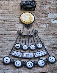 Spello - Meridiana (farsergio) Tags: italy europa europe italia sundial perugia viaggio vacanza umbria meridiana spello canon500d tamron1750 farsergio