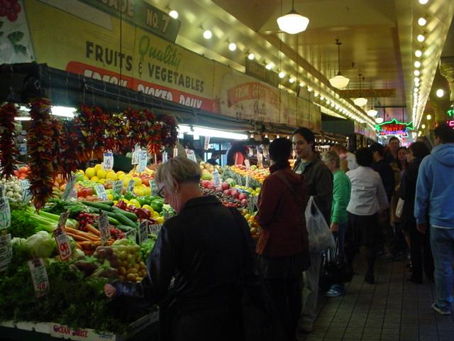 シアトル食べ歩きツアー(ストリートフード・屋台料理が味わえるオプショナルツアー)