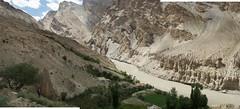 Camp spot on the Zanskar river Adventure riverand Kayaking trip