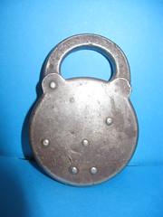 Steel Lock (bexican73) Tags: locks antiques padlocks