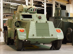 Leyland Armoured Car (Megashorts) Tags: uk ireland irish car museum pen army war tank military olympus armor dorset vehicle british inside fighting f18 armour armored 45mm tankmuseum 2012 leyland ep3 armoured bovingtontankmuseum mzd leylandarmouredcar olympusep3 ppdcb4
