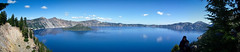 Crater Lake Pano 2 (Nike619) Tags: lake water beautiful oregon scenic crater