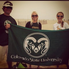Shout out to @ColoradoStateU & @CSUAlumni #Vol...