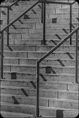 Handrails (Daniel Kulinski) Tags: city shadow urban bw up concrete mirror europe hand image walk steel daniel steps creative picture shapes evil samsung poland rail down warsaw civic imaging 1977 less beton nx nx200 kulinski daniel1977 samsungnx samsungimaging samsungnx200 danielkulinski