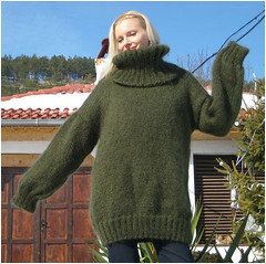 big wool sweater (* LbC *) Tags: big mohair turtleneck too