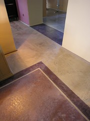 Colores Decorative Floorings on Concrete