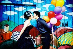 Film x Lomo Pre-Wedding Photo- Danny  Winnie*1 (Twiggy Tu) Tags: portrait film lomo lca taiwan taipei 2012 preweddingphotography  virginiatwiggyphoto