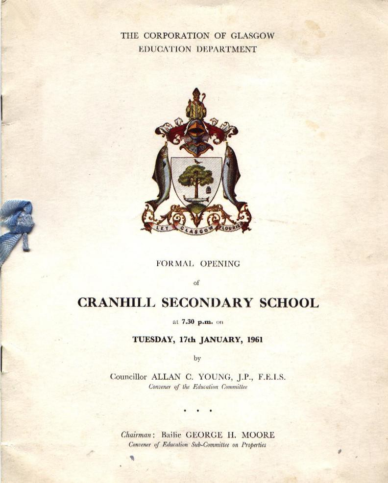 Cranhill Secondary School Open Day. 1961